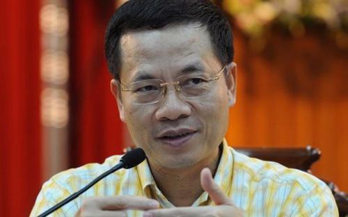 Tổng giámđốc Viettel, ông Nguyễn Mạnh Hùng.