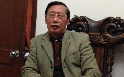 """Nguyên Phó chủ tịch Quốc hội Nguyễn Đức Kiên: """"Bây giờ Quốc hội đã khá dân chủ rồi song cũng chưa có việc gì đi đến cùng"""" - Ảnh N.H."""