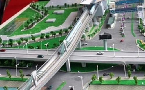 Tuyến đường sắt đô thị thí điểm đoạn Nhổn - ga Hà Nội (tuyến số 3) có tổng chiều dài 12,5km, được thực hiện từ năm 2009 nhưng đến nay đang gặp khó khăn trong giải phóng mặt bằng.<br>