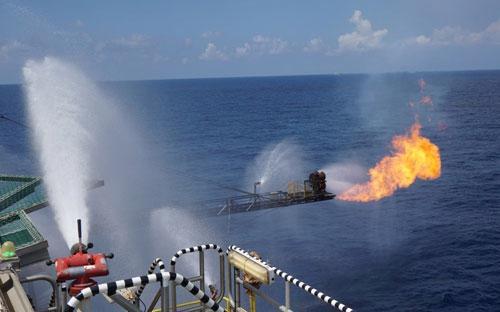 Idemitsu và công ty khai thác dầu khí JX Nippon cũng của Nhật Bản đều sở  hữu 35% cổ phần tại các lô này, trong khi một công ty khác là Inpex  Corp nắm giữ 30% - Ảnh minh hoạ.<br>