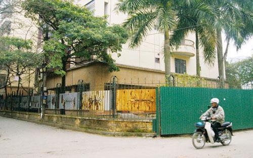 Khu nhà công vụ ở Hoàng Cầu - Hà Nội.<br>