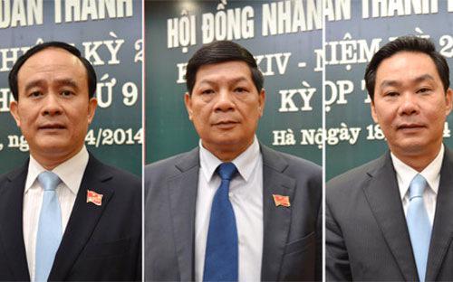 Cả 3 tân phó chủ tịch UBND thành phố Hà Nội sẽ đảm nhiệm chỉ đạo, theo dõi các lĩnh vực quan trọng của thành phố.<br>