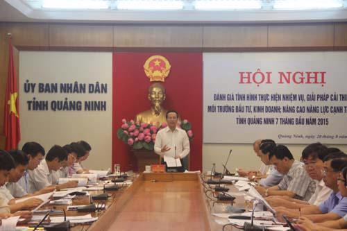 Quảng Ninh vẫn đang duy trì vị trí trong top 5 tỉnh, thành phố về chỉ số PCI.