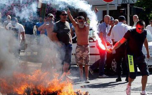 Biểu tình chống Uber diễn ra khắp nước Pháp - Ảnh: Reuters.<br>