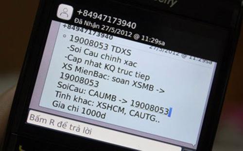 Tin nhắn rác thời gian gần đây vẫn hoành khiến người dùng điện thoại bức xúc.