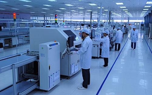 Trung tâm sản xuất điện tử của Viettel.