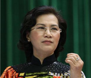 Phó chủ tịch Quốc hội Nguyễn Thị Kim Ngân.