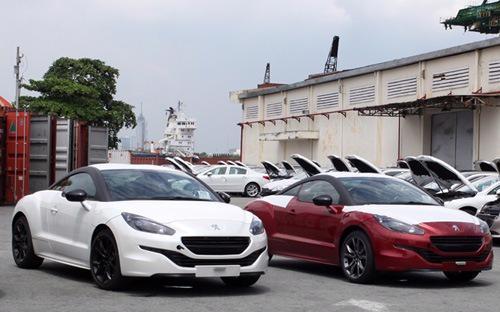 Ôtô, xe máy nhập từ EU vào Việt Nam sẽ được xoá bỏ thuế trong thời hạn tối đa 10 năm tới.<br>