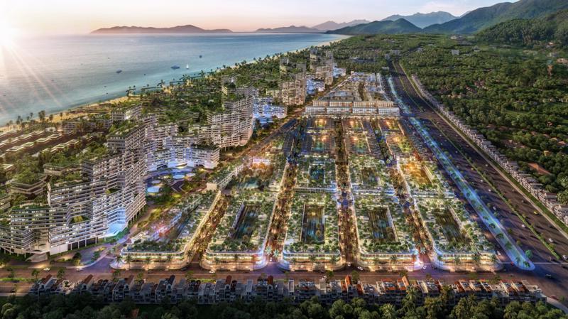 Thanh Long Bay được kỳ vọng trở thành điểm biểu tượng du lịch mới của Hàm Thuận Nam, Phan Thiết.
