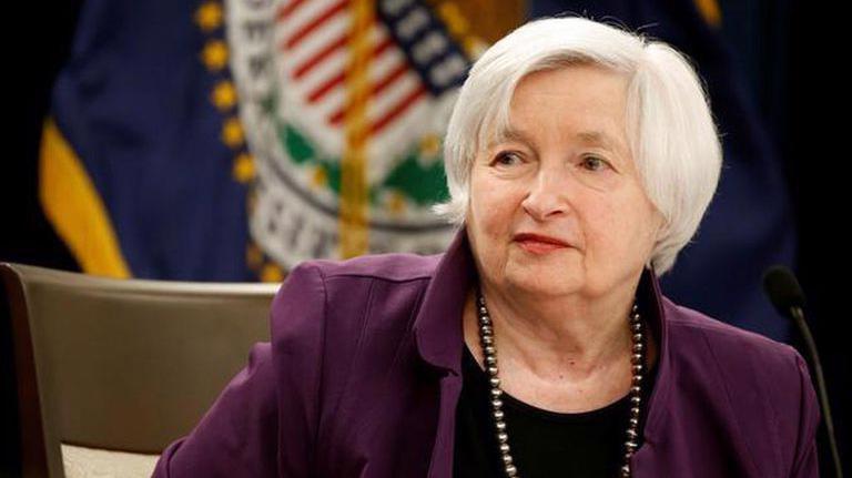 Bộ trưởng Bộ Tài chính Mỹ Janet Yellen - Ảnh: Reuters.