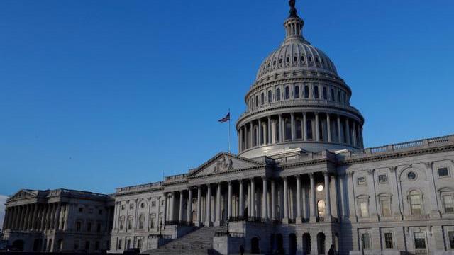 Tòa nhà Quốc hội Mỹ ở Capitol Hill, Washington DC - Ảnh: Reuters.