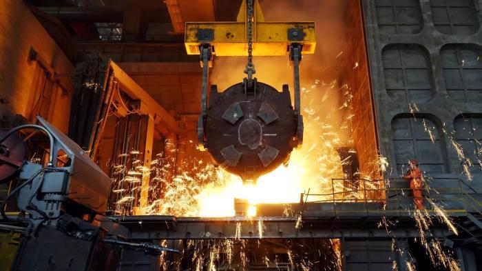 Một nhà máy thép ở Trung Quốc - Ảnh: FT.