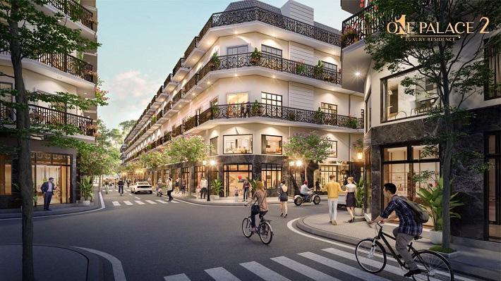 Lựa chọn đầu tư One Palace 2, khách hàng hoàn toàn an tâm khi các sản phẩm nhà phố thương mại đều đã có sổ riêng từng căn.
