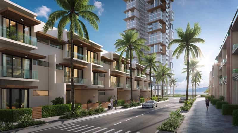 Thanh Long Bay được khách hàng quan tâm bởi quy hoạch bài bản theo theo hướng trở thành đô thị nghỉ dưỡng sinh tái kết hợp thể thao biển của khu vực.