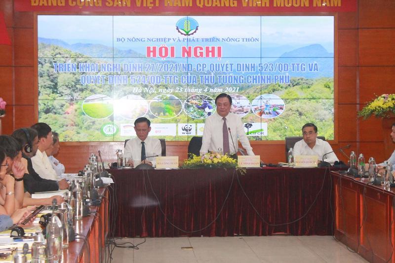 Hội nghị triển khai Quyết định số 523/QĐ-TTg của Thủ tướng Chính phủ phê duyệt Chiến lược phát triển lâm nghiệp