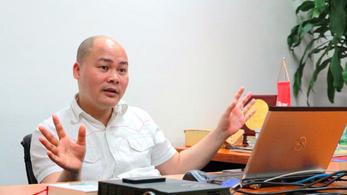 Chủ tịch Bkav Nguyễn Tử Quảng.