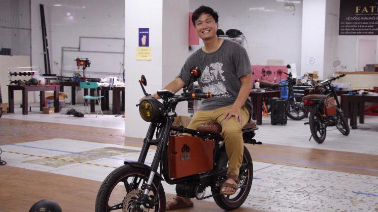 """Đặt mục tiêu là nhà sản xuất Việt Nam dẫn đầu trong khát vọng """"xanh hóa"""" thị trường xe 2 bánh có giá trị 25 tỷ USD tại khu vực Đông Nam Á."""
