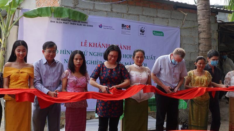 Khánh thành dự án nông nghiệp kết hợp điện mặt trời