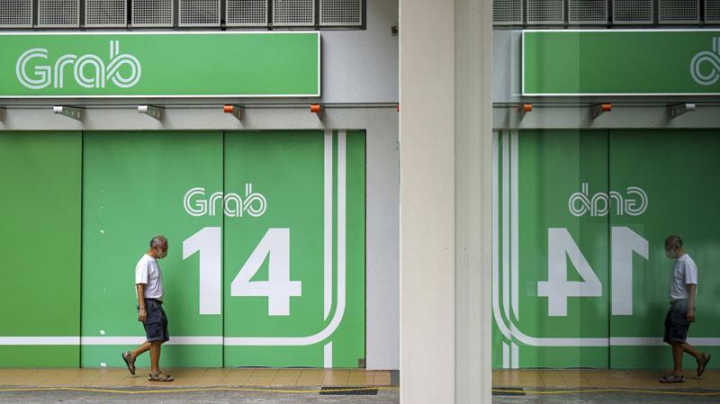 Grab được định giá khoảng 34 tỷ USD khi lên sàn thông qua một công ty SPAC - Ảnh: Getty Images
