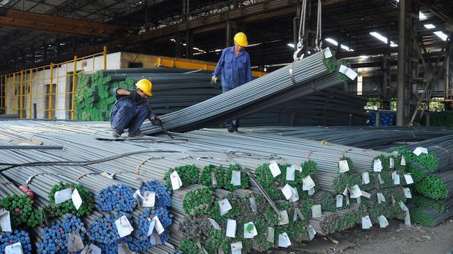Xuất khẩu sắt thép tăng 85% trong quý 1/2021