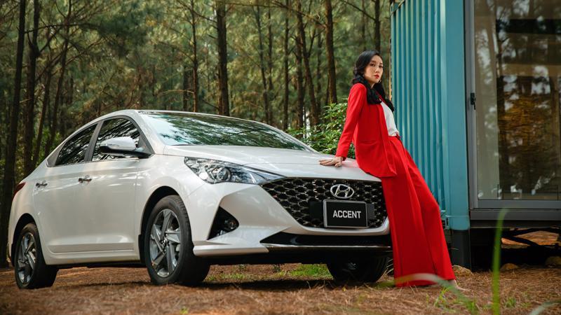 Accent vẫn là mẫu xe Hyundai bán chạy nhất với 2.094 chiếc giao đến tay khách hàng trong tháng 3/2021.