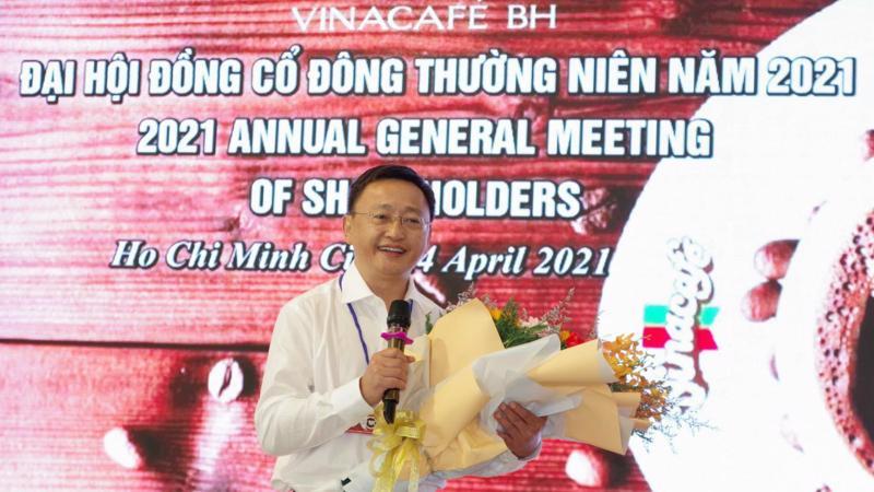 Ông Lê Hữu Thăng, Tổng giám đốc Công ty Vinacafé Biên Hòa.