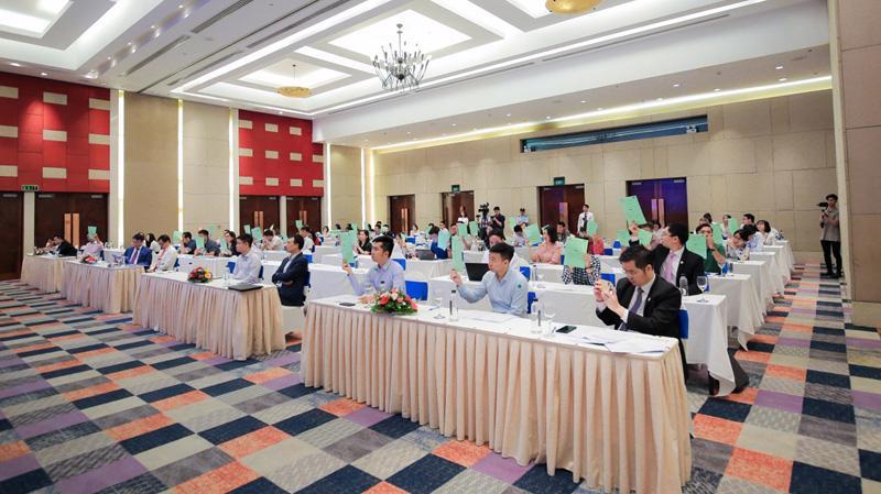 Tại Đại hội đồng cổ đông năm 2020, VPI nhận được sự đồng thuận cao từ các cổ đông.