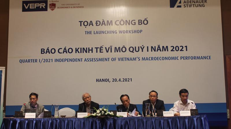 Tọa đàm công bố báo cáo kinh tế vĩ mô quý I năm 2021