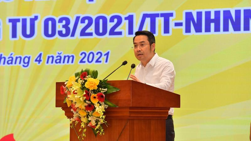 Ông Nguyễn Tuấn Anh, Vụ trưởng Vụ Tín dụng các ngành kinh tế