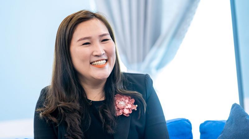 Bà Nguyễn Tường Vy - Chủ tịch Hội đồng quản trị Trường Liên cấp Korea Global Shool.