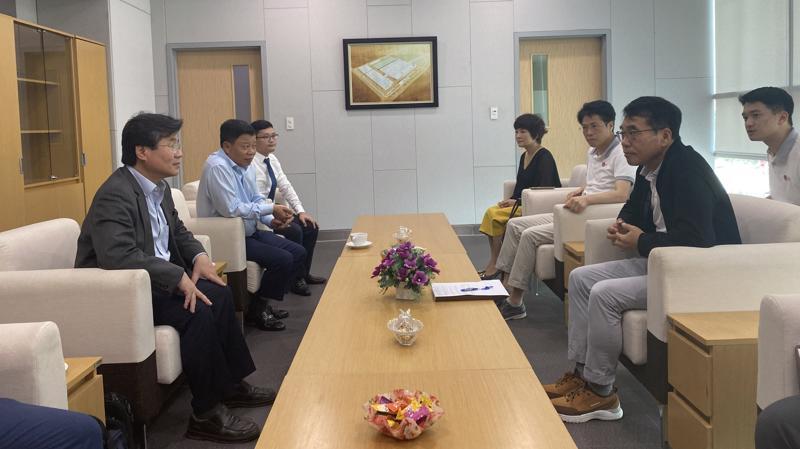 Buổi làm việc giữa lãnh đạo Cục Đầu tư nước ngoài, Ban Quản lý Khu kinh tế Hải Phòng và LG Electronics Việt Nam