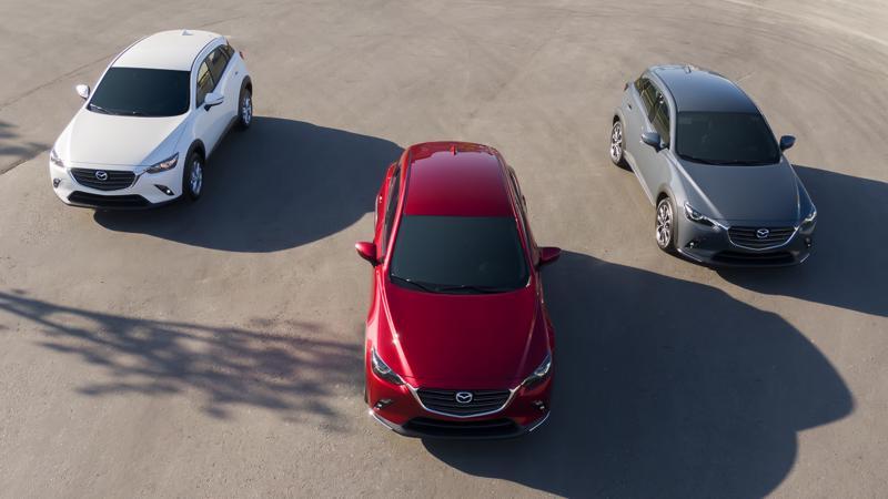 Các phiên bản Mazda CX-3 vừa ra mắt thị trường Việt Nam.