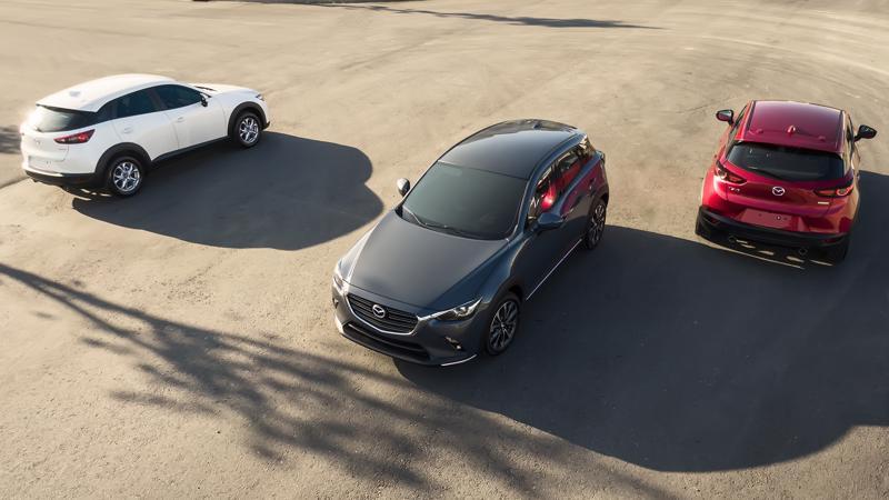 Mazda CX-3 2021 có tất cả 3 phiên bản tại thị trường Việt Nam.