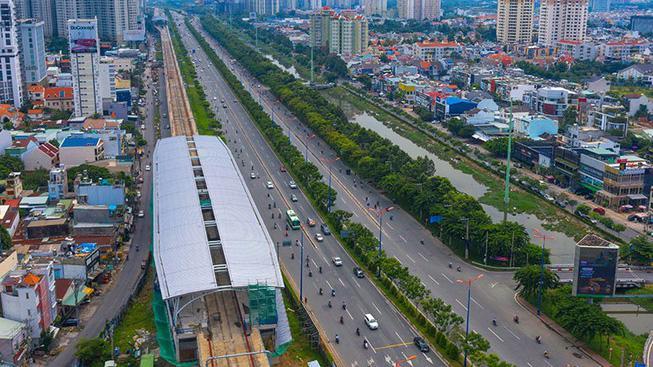 Tuyến metro 1 của Tp.HCM sẽ tăng tính kết nối giữa khu vực trung tâm và khu Đông của thành phố.