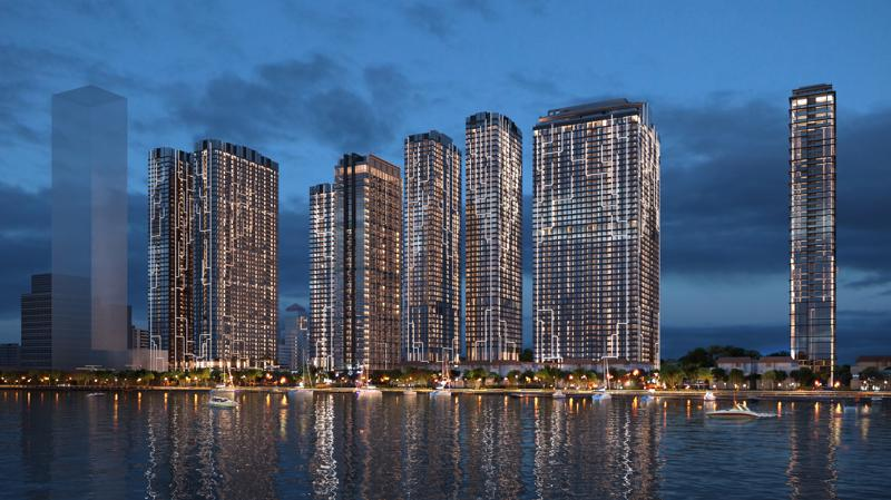 Toàn cảnh quy hoạch tổng thể dự án Grand Marina.
