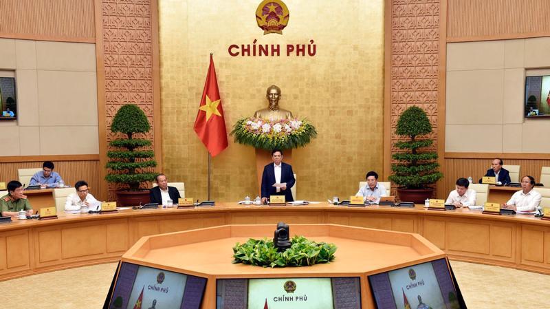 Chính phủ họp triển khai công việc sau khi kiện toàn - Ảnh: VGP