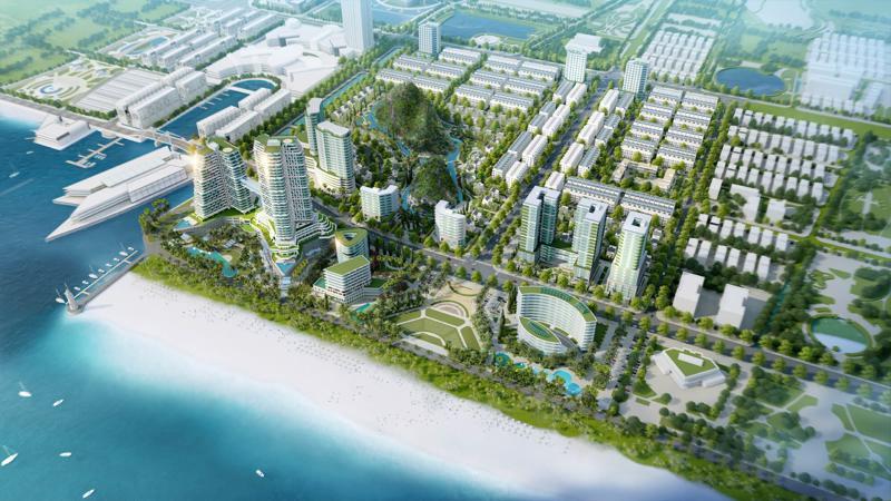 Dự án Ocean Park được chào bán trên các trang thương mại bất động sản