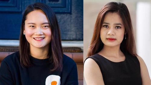 """Hai nữ doanh nhân 9X Việt lọt vào danh sách """"Forbes Under 30 Asia"""" năm 2021, hạng mục tài chính và đầu tư mạo hiểm."""