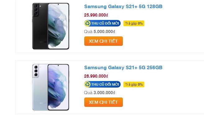 Dù mới ra mắt đầu năm nay nhưng smartphone cao cấp Galaxy S21 series liên tục điều chỉnh giảm giá.