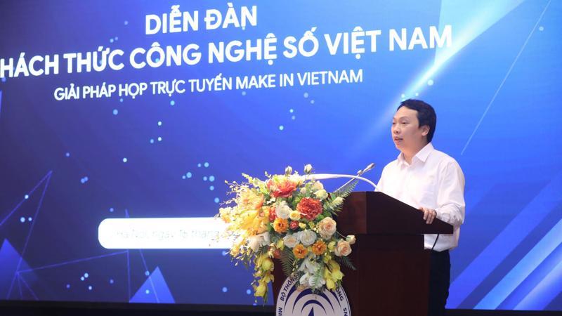 """Thứ trưởng Bộ TT&TT Nguyễn Huy Dũng: """"những mục tiêu lớn, hoài bão lớn luôn bắt nguồn từ khát vọng"""""""