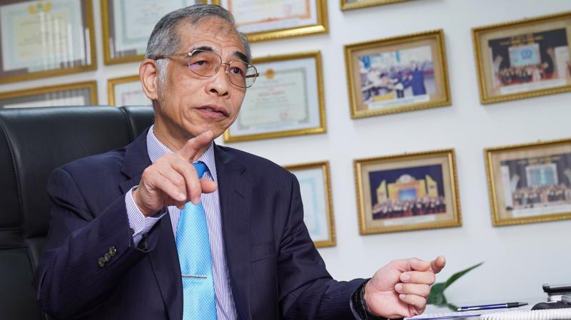 Ông Tony Liu – Tổng Giám đốc Công ty Xi măng Chinfon. Ảnh: Việt Tuấn