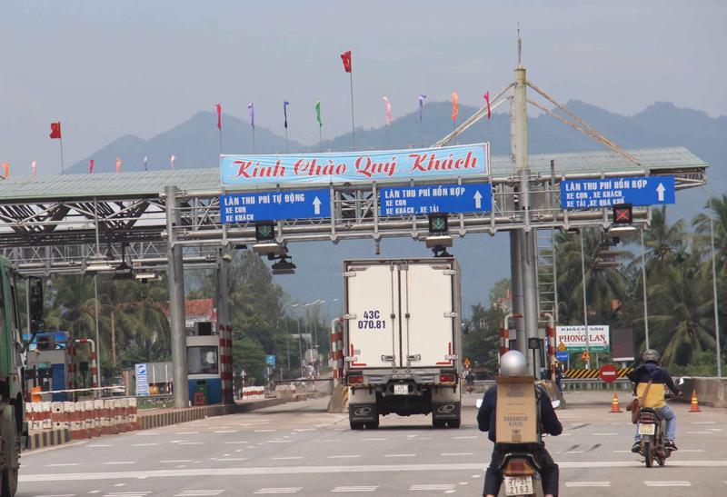 Trạm thu phí BOT Nam Bình Định
