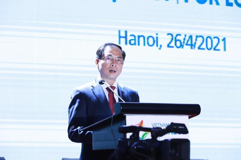 Bộ trưởng Bộ Ngoại giao, ông Bùi Thanh Sơn
