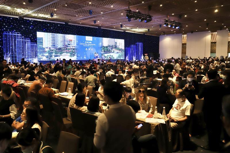 Hơn 1.400 khách hàng tham gia Chương trình tiết kiệm nhà ở lần 3 đã có mặt tại sự kiện.