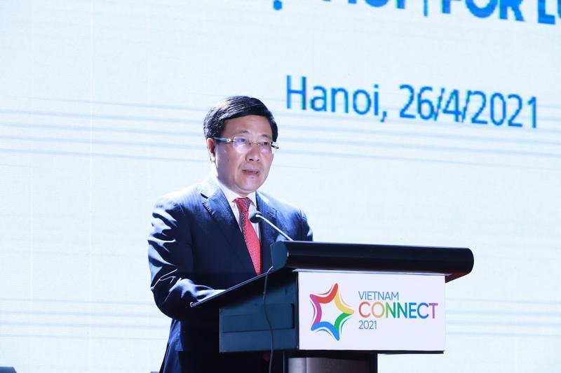 Phó Thủ tướng Phạm Bình Minh - Ảnh: Quang Phúc