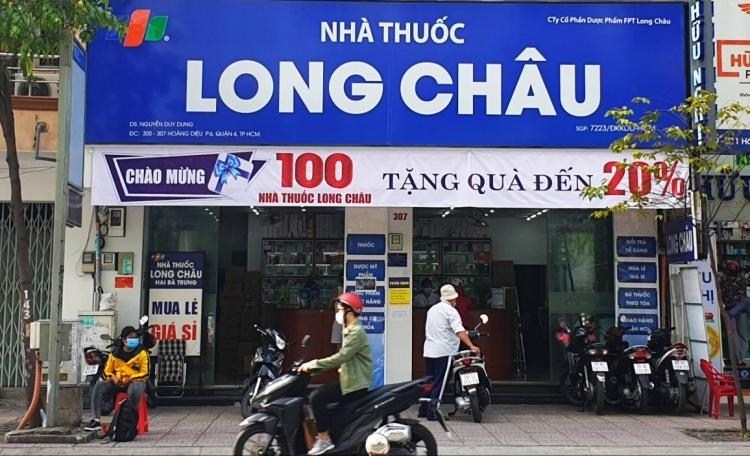 Chuỗi cửa hàng Long Châu đã đạt mốc 222 cửa hàng vào cuối quý 1/2021 - trong đó có 216 cửa hàng đã phát sinh doanh thu.