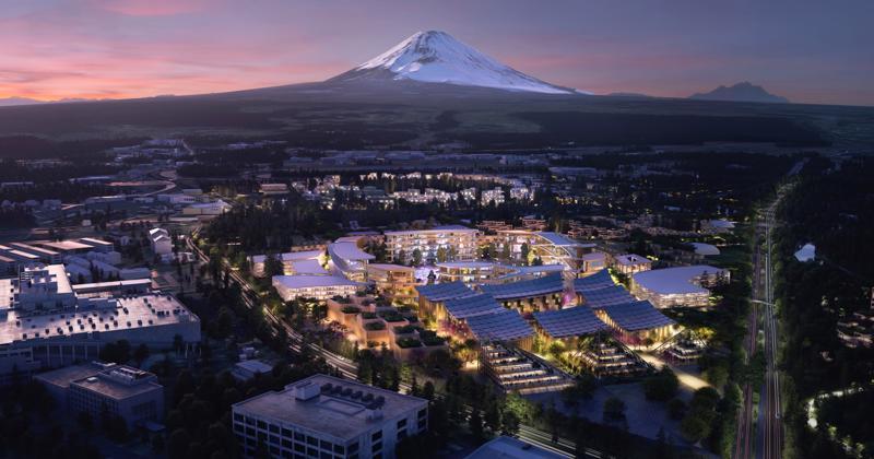 Thành phố Woven của Toyota sẽ tọa lạc dưới chân núi Phú Sĩ - Ảnh: Toyota Motor Corp.