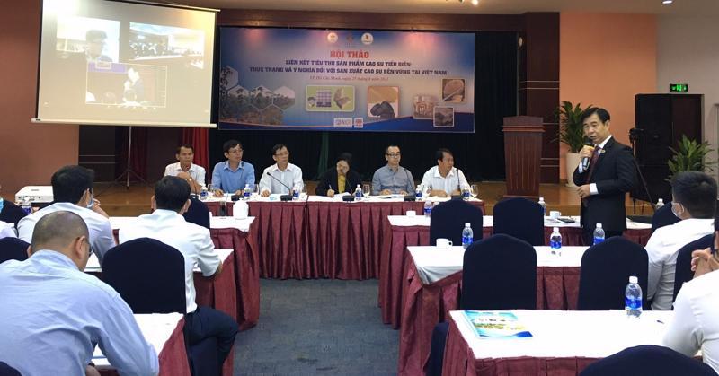 Hội thảo công bố báo cáo toàn cảnh ngành cao su