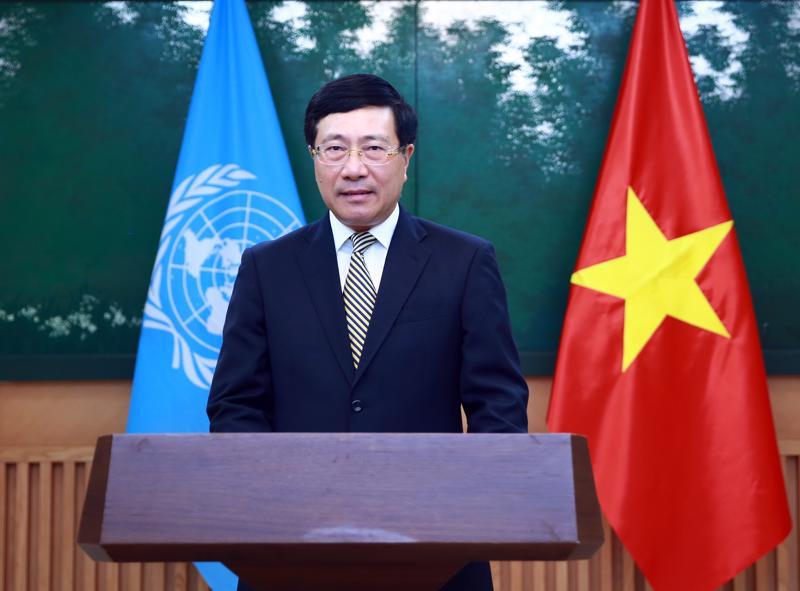 Phó Thủ tướng Phạm Bình Minh - Ảnh: Bộ Ngoại giao