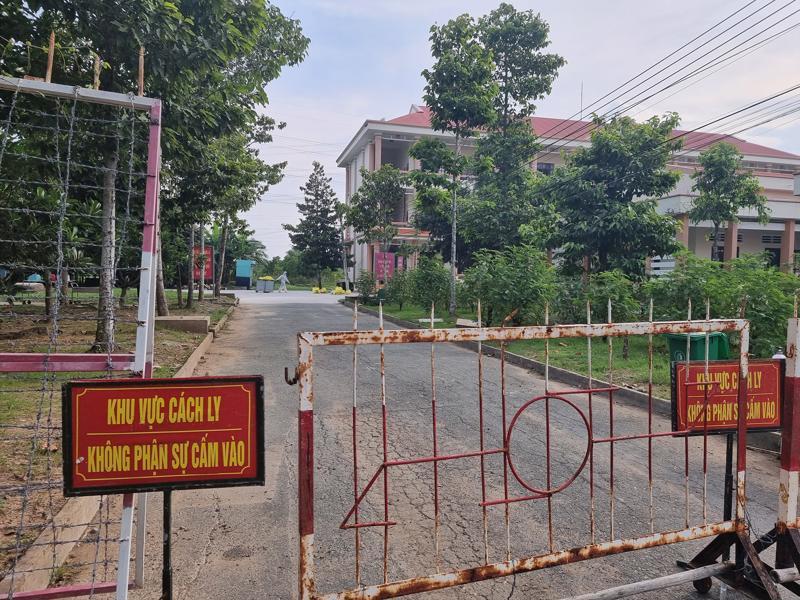 Khu cách ly tập trung Tiểu đoàn Ấp Bắc tỉnh Tiền Giang